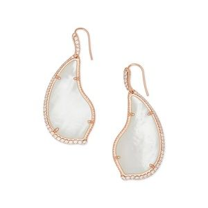 Kendra Scott 14K Gold Mother-of-Pear Earrings